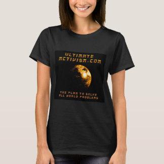 ULTIMATE ACTIVISM.COM Women's Basic T-Shirt