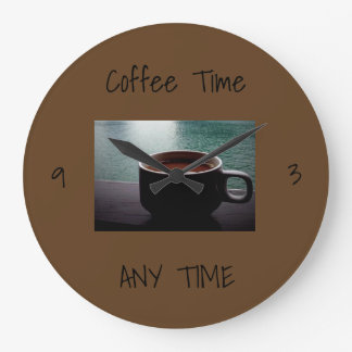**ULTIMATE COFFEE LOVER'S** CLOCK