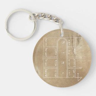 Ultimate Door Opener Double-Sided Round Acrylic Keychain