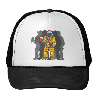 Ultimate Firefighter Mesh Hats