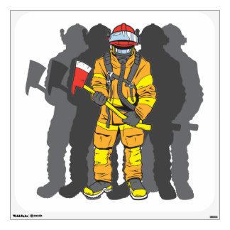 Ultimate Firefighter Wall Sticker