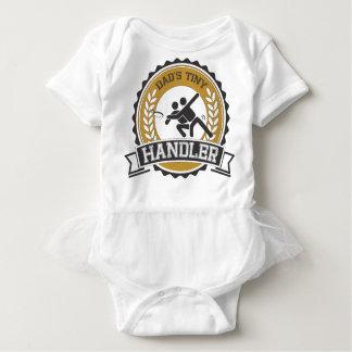 Ultimate Frisbee - Daddy's little Handler Baby Bodysuit
