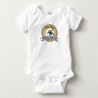 Ultimate Frisbee - Daddy's little Handler Baby Onesie