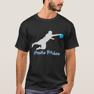 Ultimate Frisbee (Dive) (dark) T Shirt