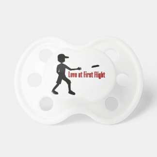 Ultimate Frisbee Love at First Flight Pacifier