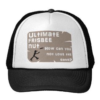 Ultimate Frisbee Nut Hat