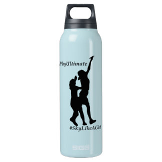 Ultimate Frisbee - Sky like a girl Insulated Water Bottle