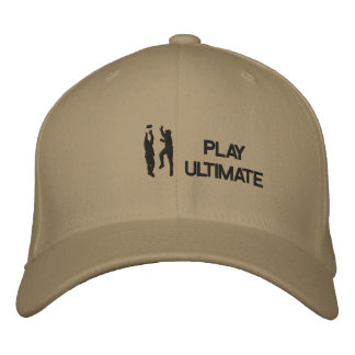 Ultimate Frisbee Stiched Hat Embroidered Hats