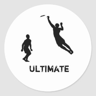 Ultimate frisbee sticker