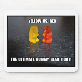 Ultimate Gummy Bear Fight Mouse Pad