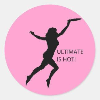 Ultimate Is Hot Sticker Sheet