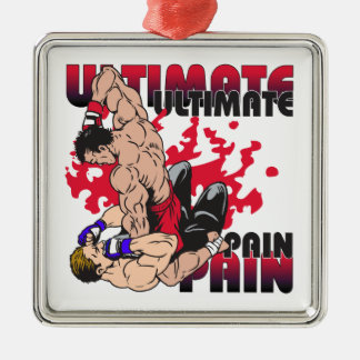 Ultimate Pain Fighters Metal Ornament