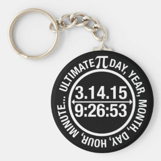 Ultimate Pi Day 2015 Keychain