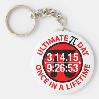 Ultimate Pi Day 2015 Key Chain