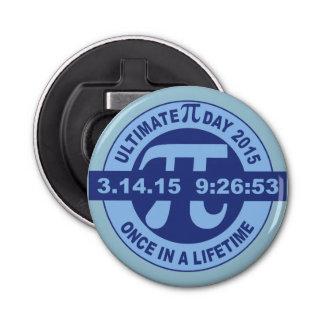 Ultimate Pi day bottle opener 2015 3.14.15 9:26:53 Button Bottle Opener