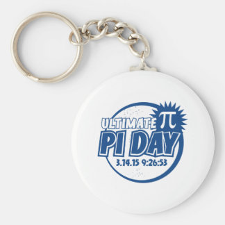 Ultimate Pi Day Keychain