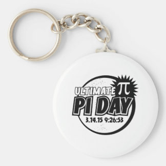 Ultimate Pi Day Keychains