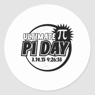 Ultimate Pi Day Round Stickers