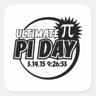 Ultimate Pi Day Square Sticker