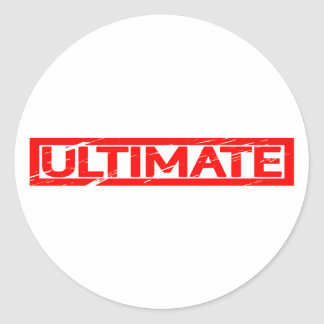 Ultimate Stamp Classic Round Sticker
