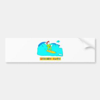 Ultimate Surfer Bumper Stickers