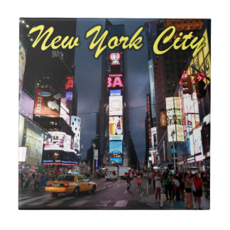 Ultimate Times Square New York City USA Tile