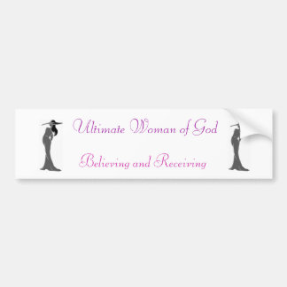 Ultimate Woman bumper sticker