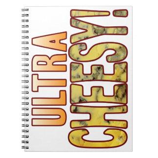 Ultra Blue Cheesy Spiral Note Book