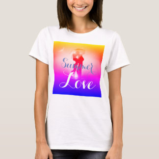 Ultra Bright Cute Summer Love T-shirt