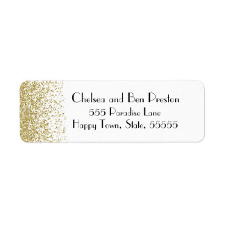Ultra Chic Gold Glitter Sparkle