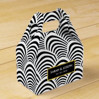 Ultra Chic Jazz Age Deco pattern Favor Box