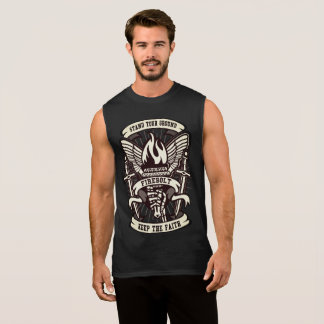Ultra Cotton Sleeveless T-Shirt stand your ground