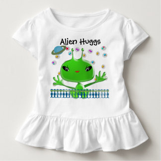 Ultra Cute Baby Alien Huggs Toddler T-shirt