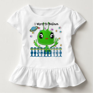Ultra Cute Baby Alien Toddler T-shirt
