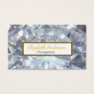Ultra Glam Digital Diamond Professional Business Card