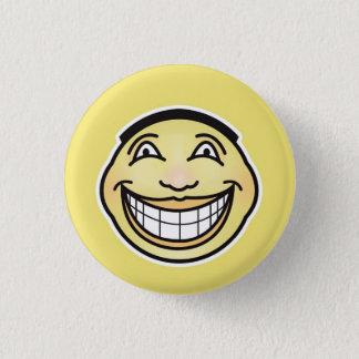 Ultra Happy Smiley Face Button