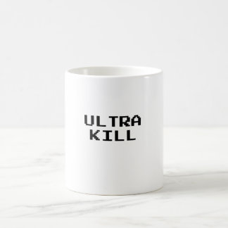 Ultra Kill Video Game Font Coffee Mug