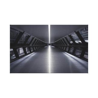 Ultra Modern Sci-fi Walkway Canvas Print