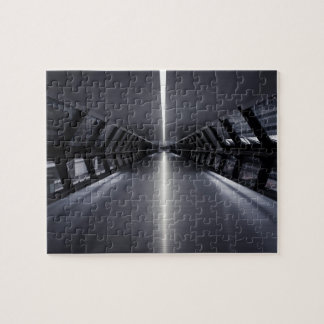 Ultra Modern Sci-fi Walkway Jigsaw Puzzle