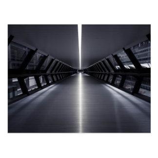 Ultra Modern Sci-fi Walkway postcard