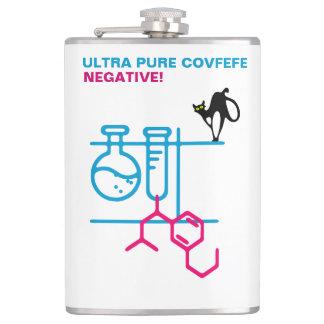 Ultra Pure Covfefe. Negative. Customizable Flask