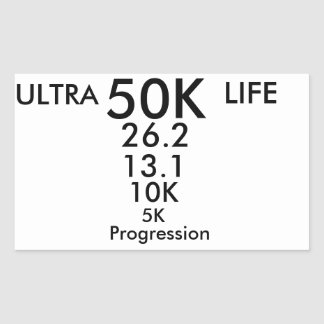 ultra running sticker