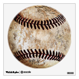 Ultra Rustic Vintage Baseball Wall Decal