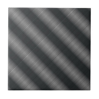 Ultra Thin Black & White Gradation Lines Tile