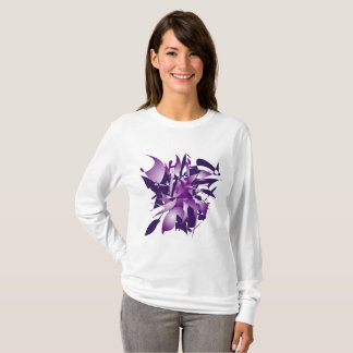 Ultra violet abstraction T-Shirt