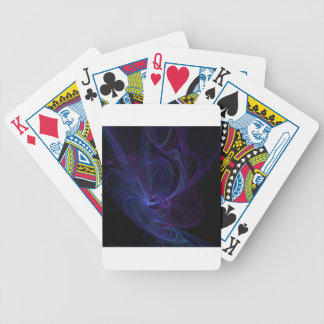 Ultra violet bicycle playing cards