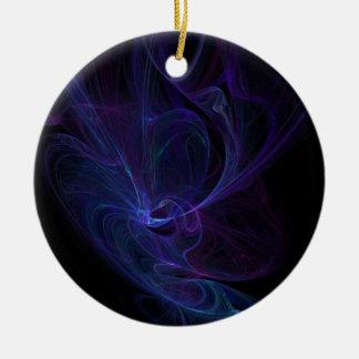 Ultra violet ceramic ornament