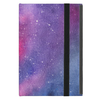 Ultra violet galaxy iPad case