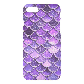 Ultra Violet Glitter Mermaid Scales iPhone 8/7 Case