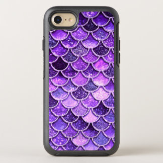 Ultra Violet Glitter Mermaid Scales OtterBox Symmetry iPhone 8/7 Case